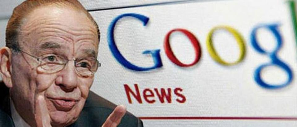 Murdoch begins showdown with Google
