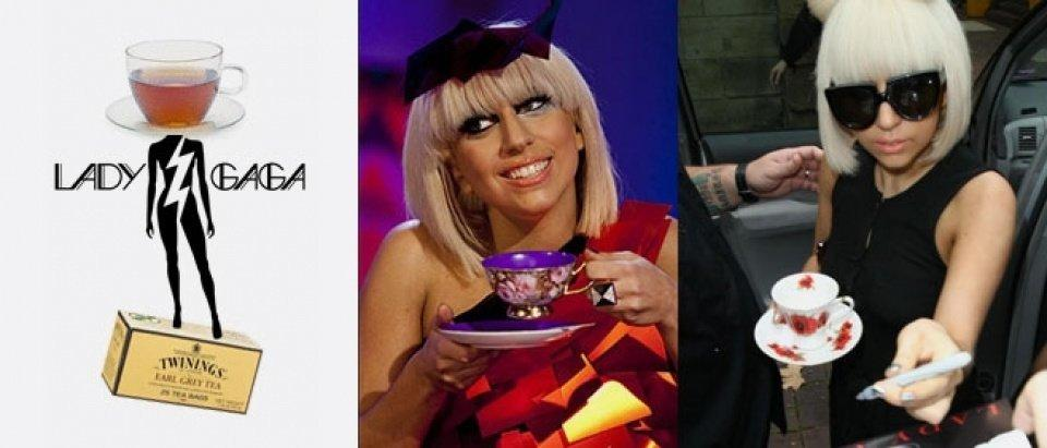Lady Gaga brewing deal with tea brands