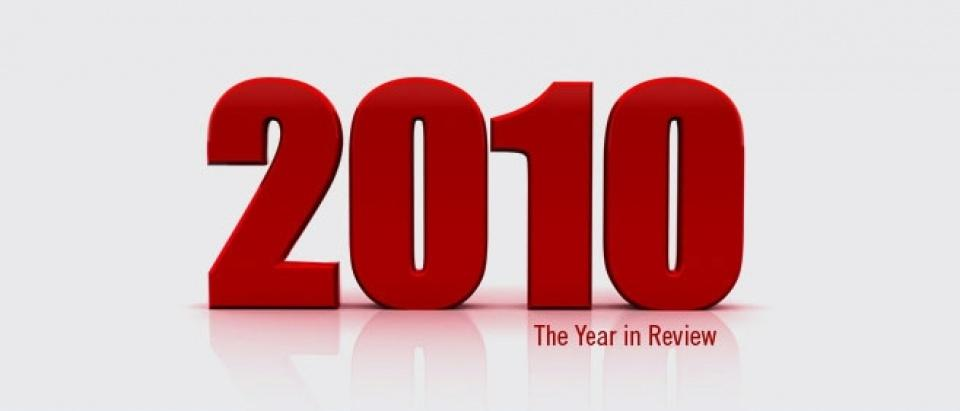 2010 - the year in review