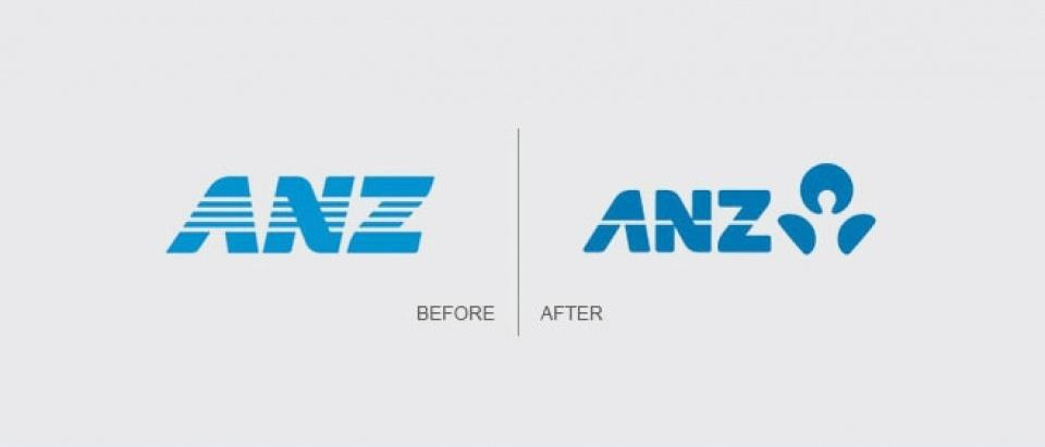 ANZ's new brand positioning and identity