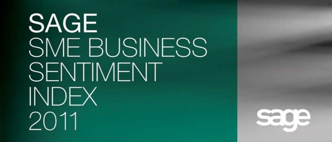 Sage SME business sentiment index 2011 and integrated campaign