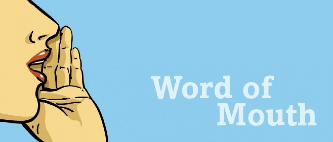 The power of word of mouth in brand promotion