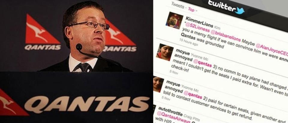 Qantas flies into cloudy brand territority