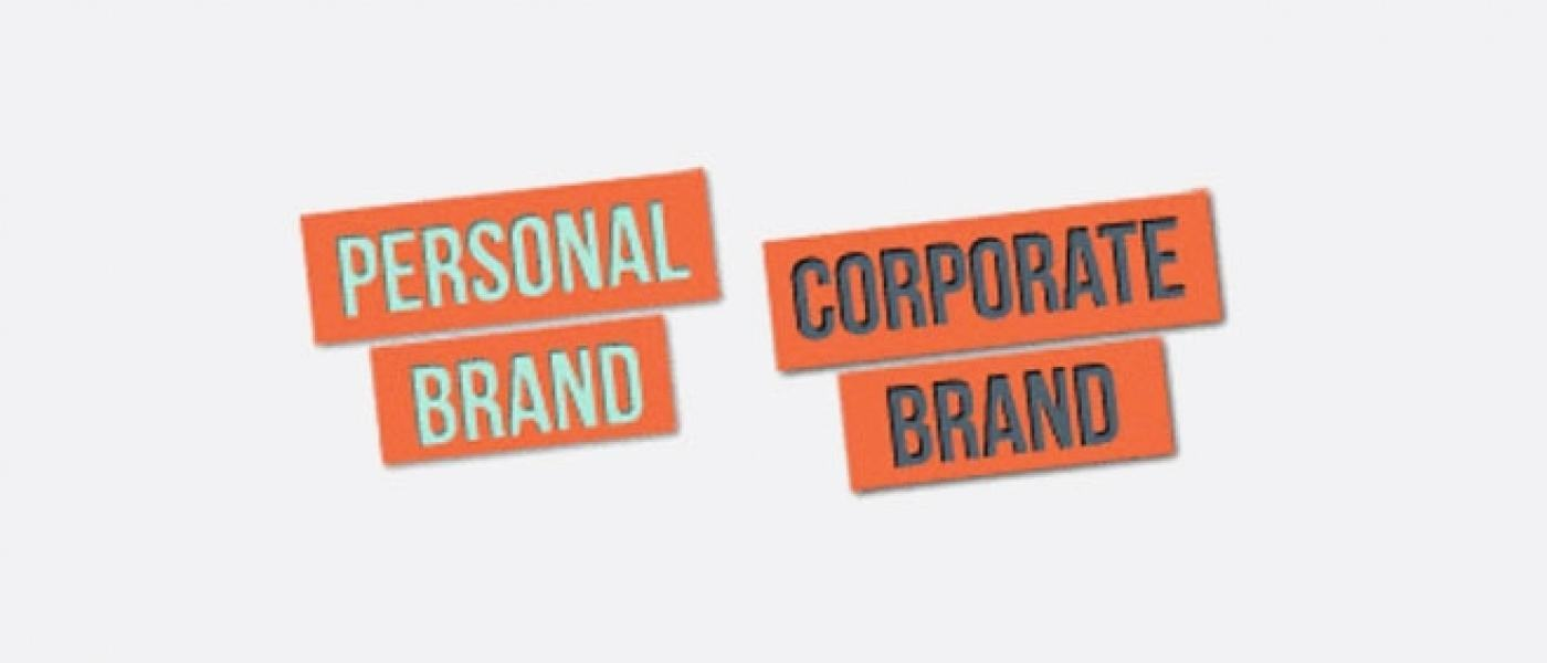 Personal brand stamp and corporate brand stamp