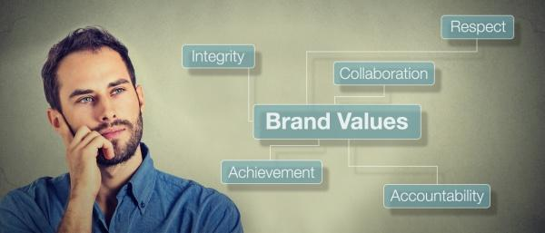 Creating brand values that matter