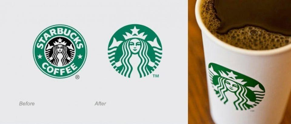 Starbucks unveils new brand logo design