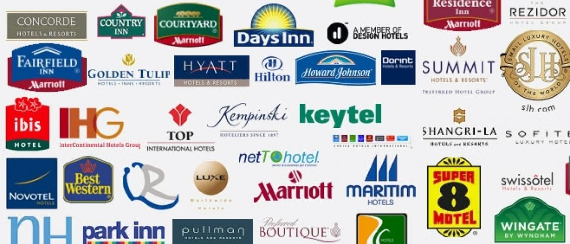 Hotels trading off their brand names
