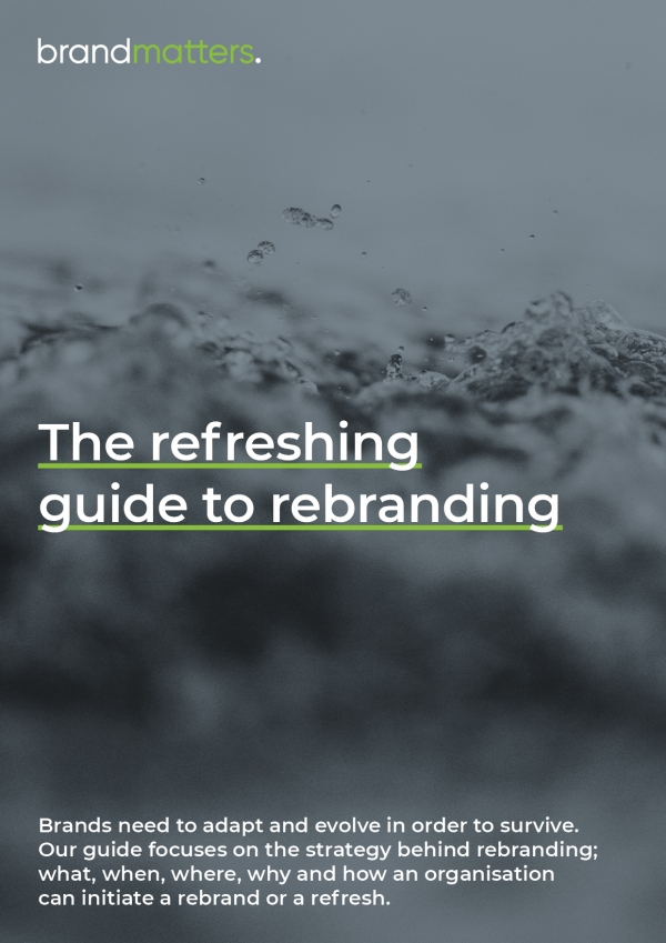 The refreshing guide to rebranding